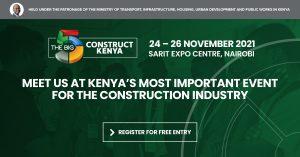 The Big 5 Construct Kenya @ Sarit Expo Centre, Nairobi, Kenya